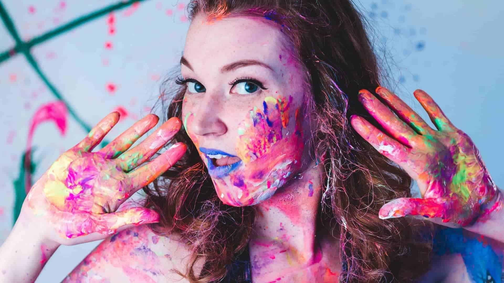 What Paint is Safe for Skin