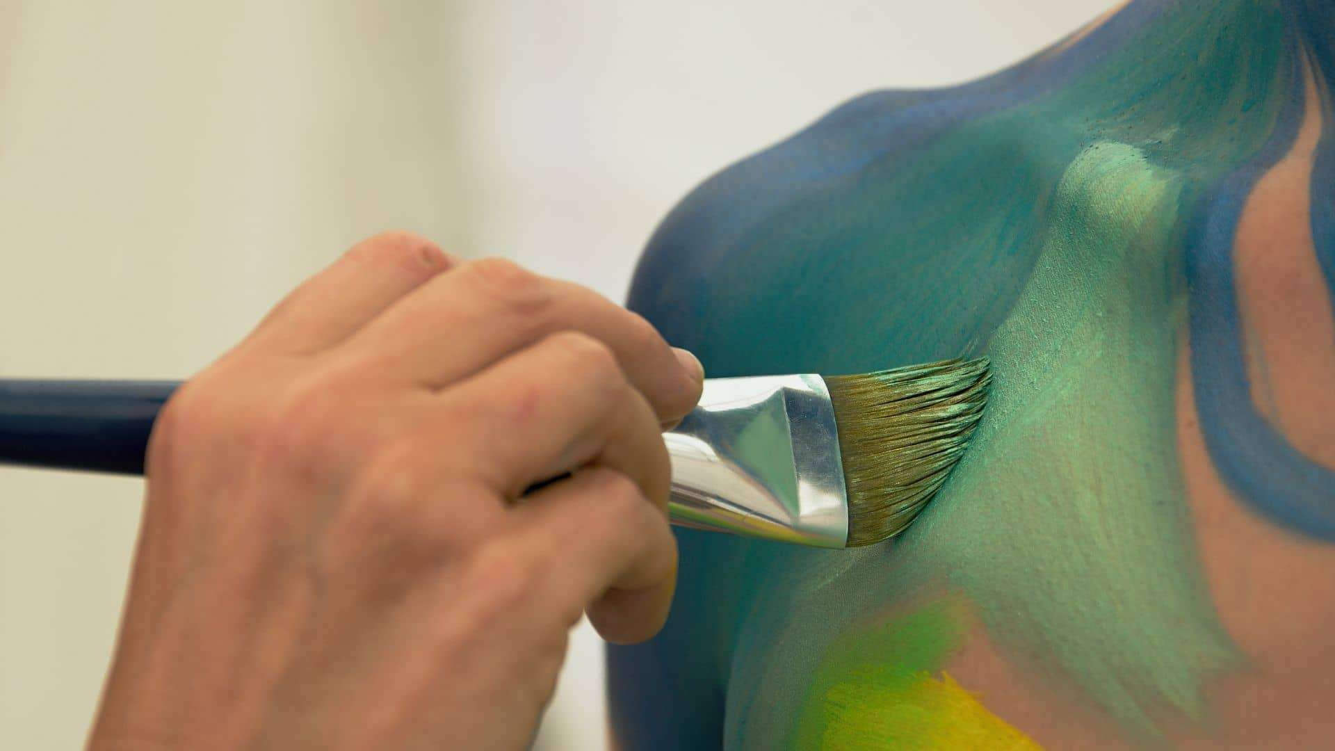 How To Apply Body Paint