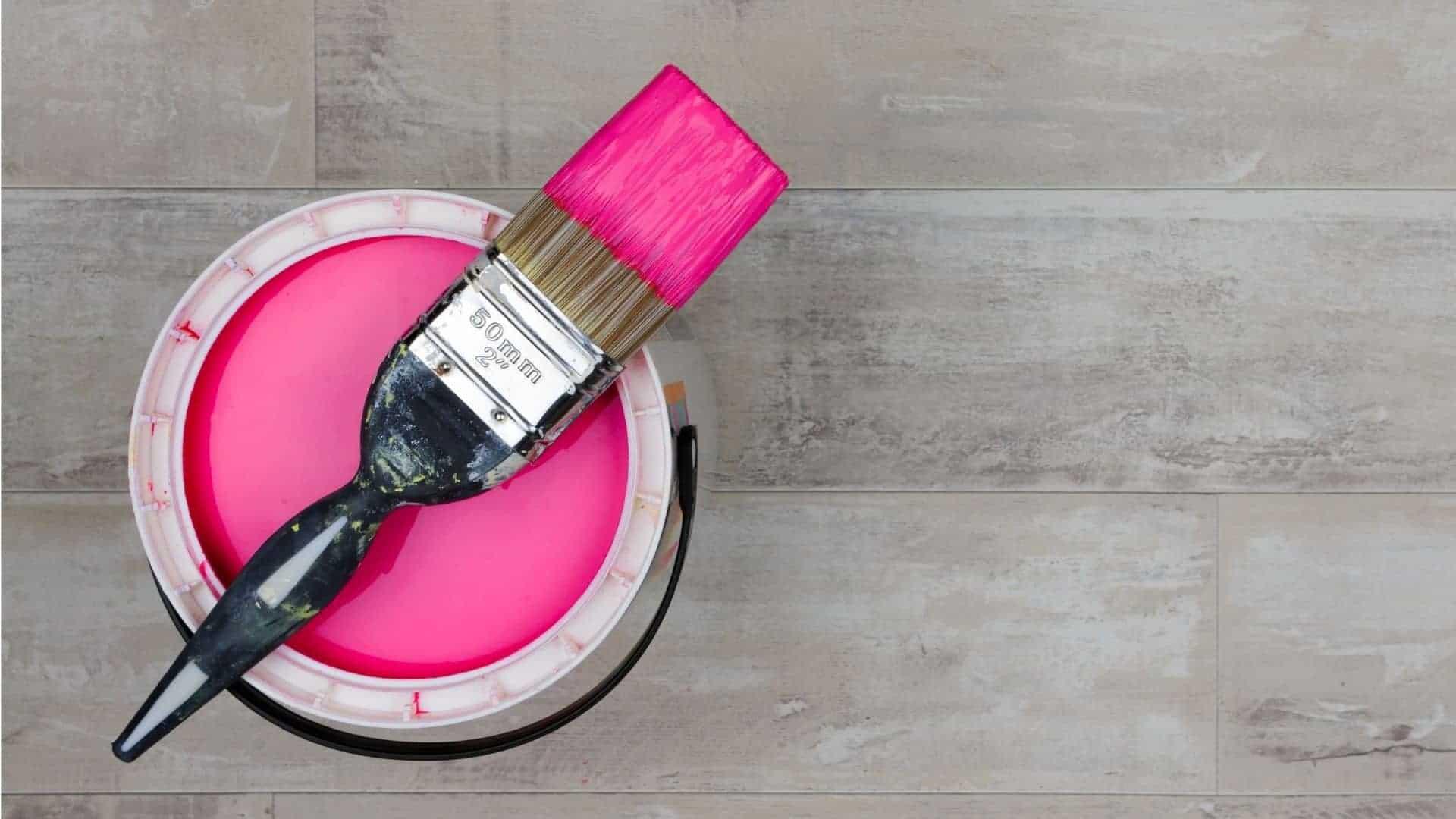 How To Make Fuchsia Paint