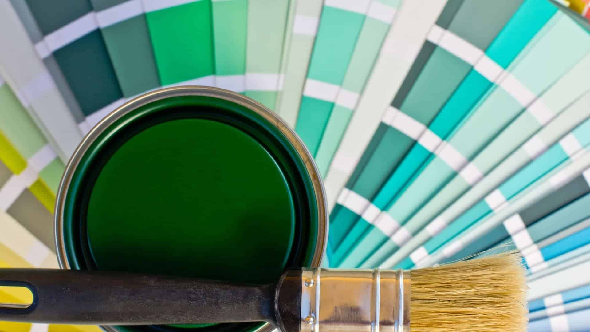 How To Make Green Paint