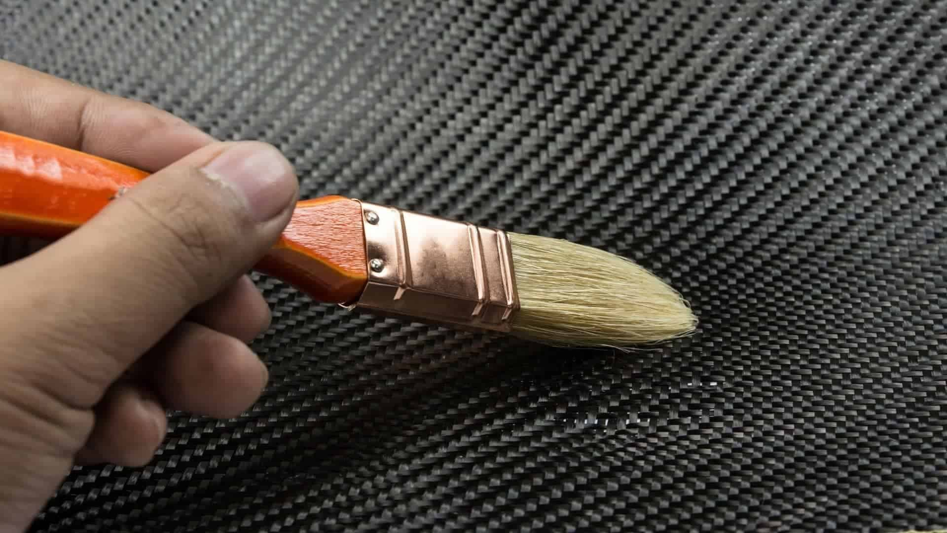 How to paint over carbon fiber