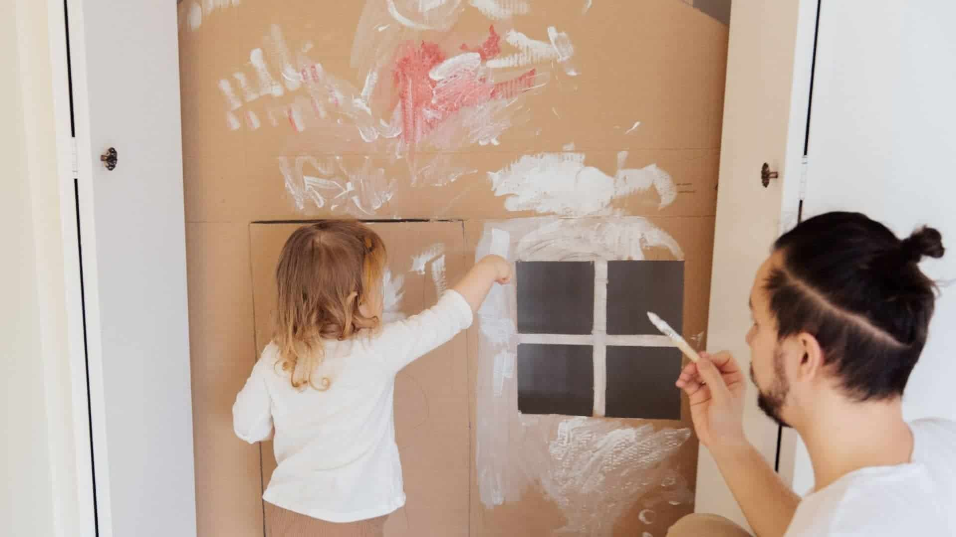 What Paint To Use On Cardboard
