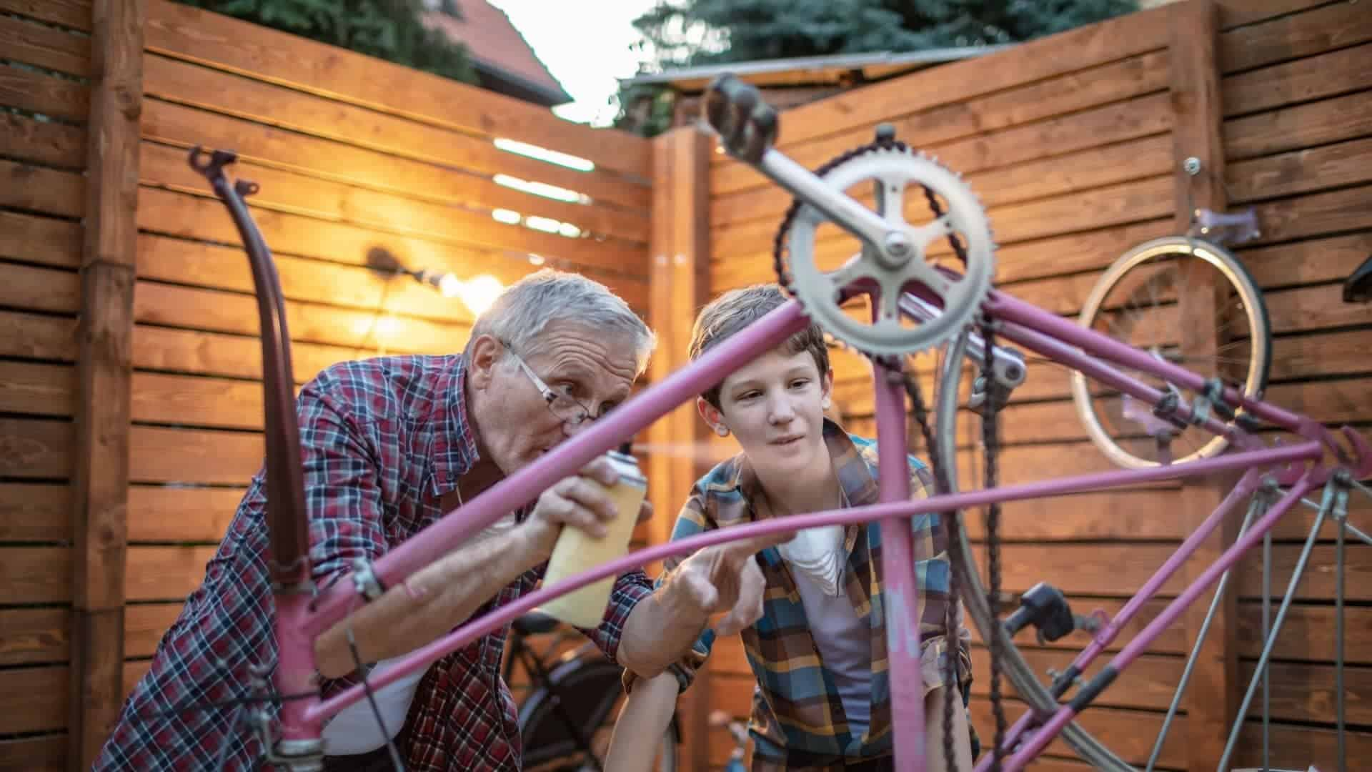 How To Paint A Bicycle