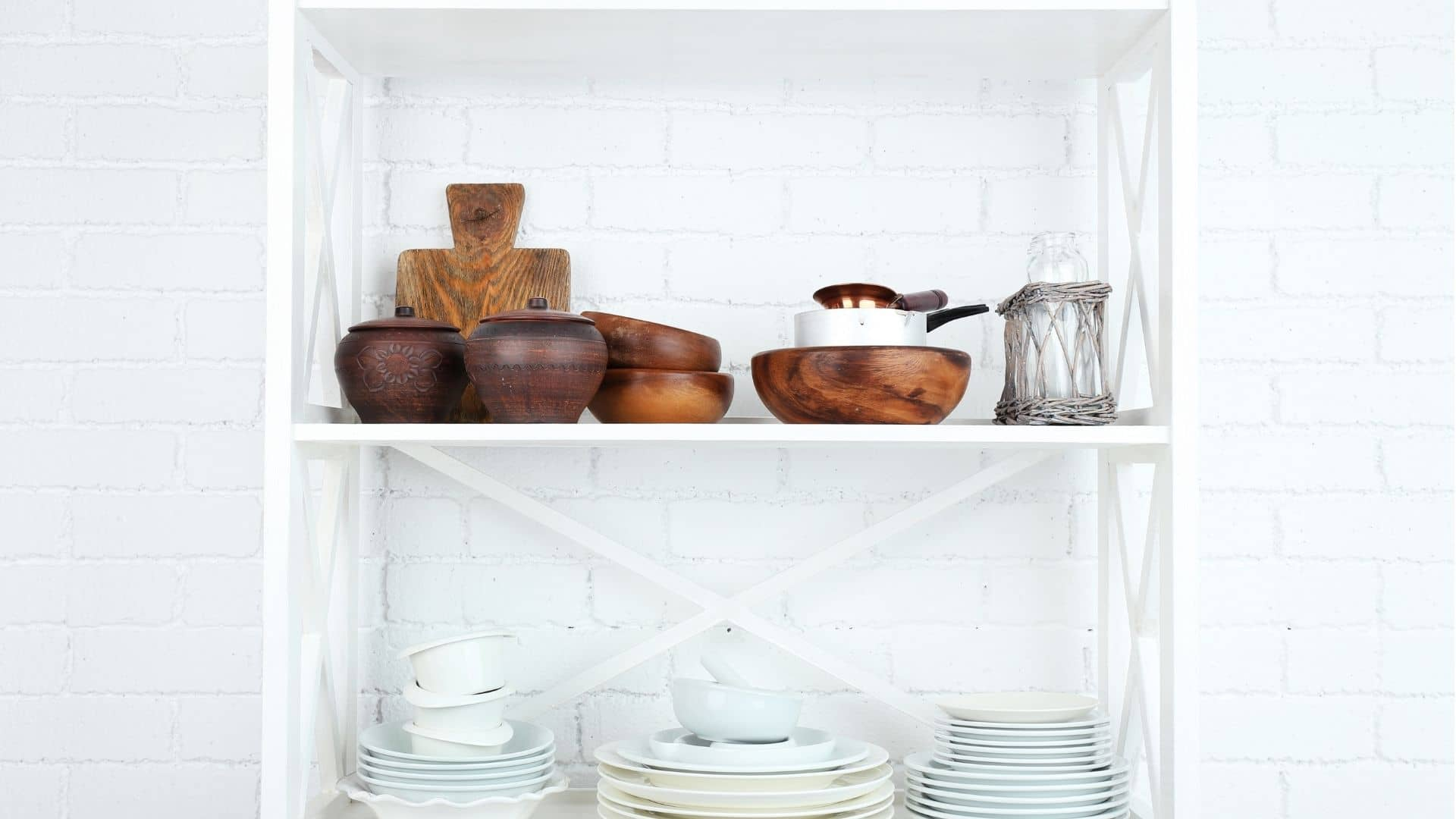 How To Paint Particle Board Shelves