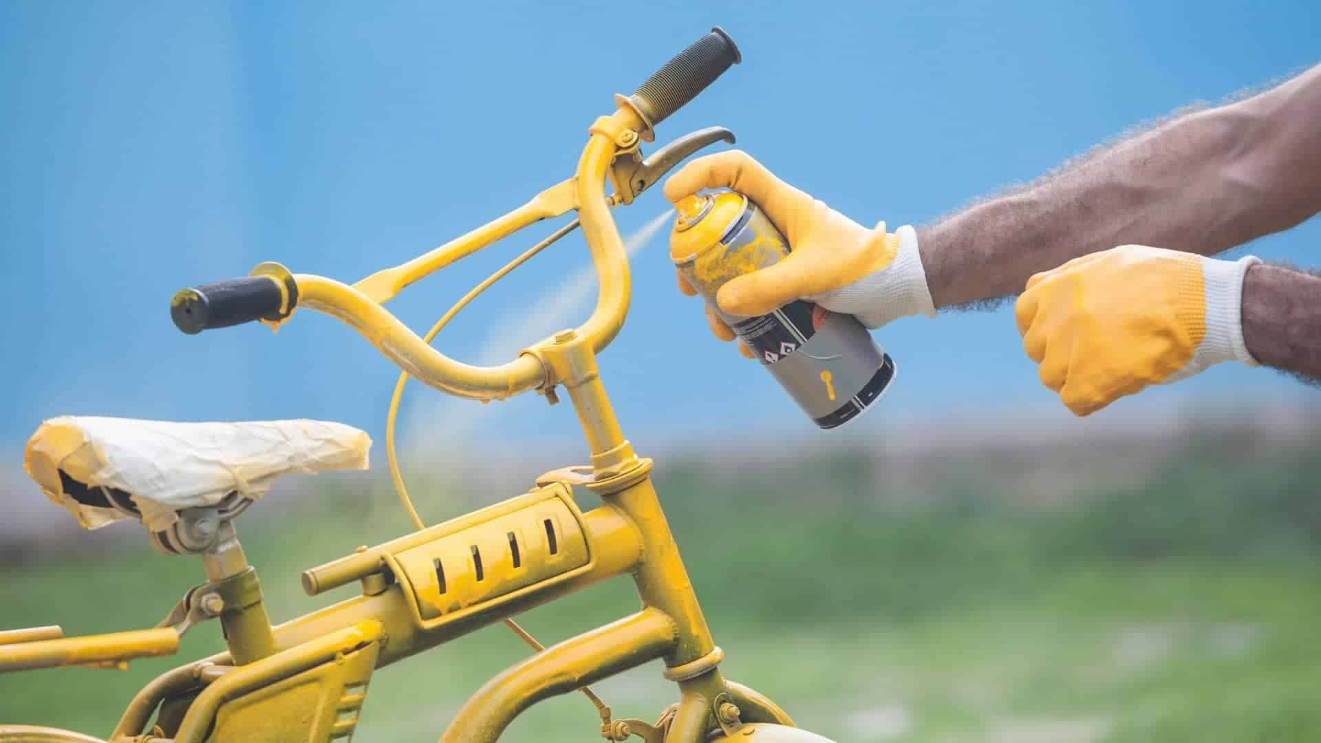How To Paint Your Bike