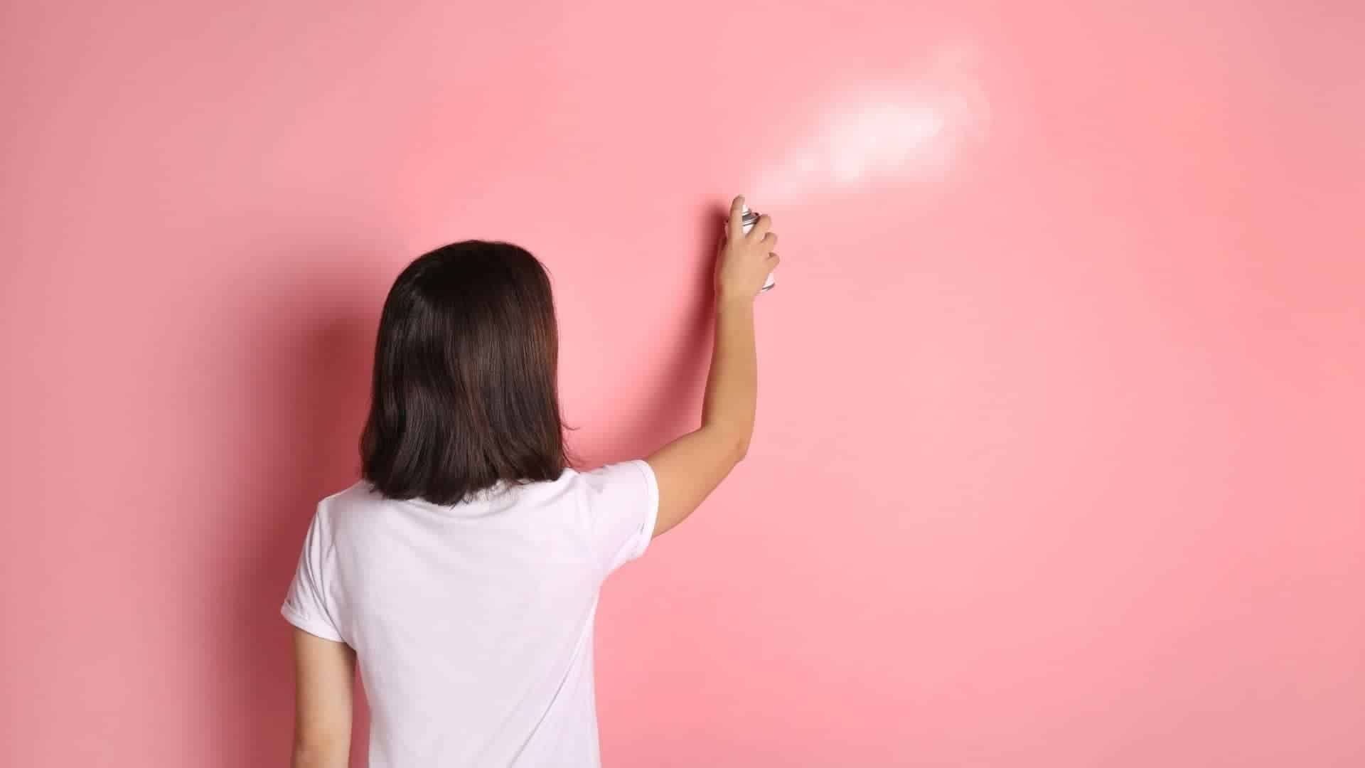 How To Make Spray Paint Not Sticky