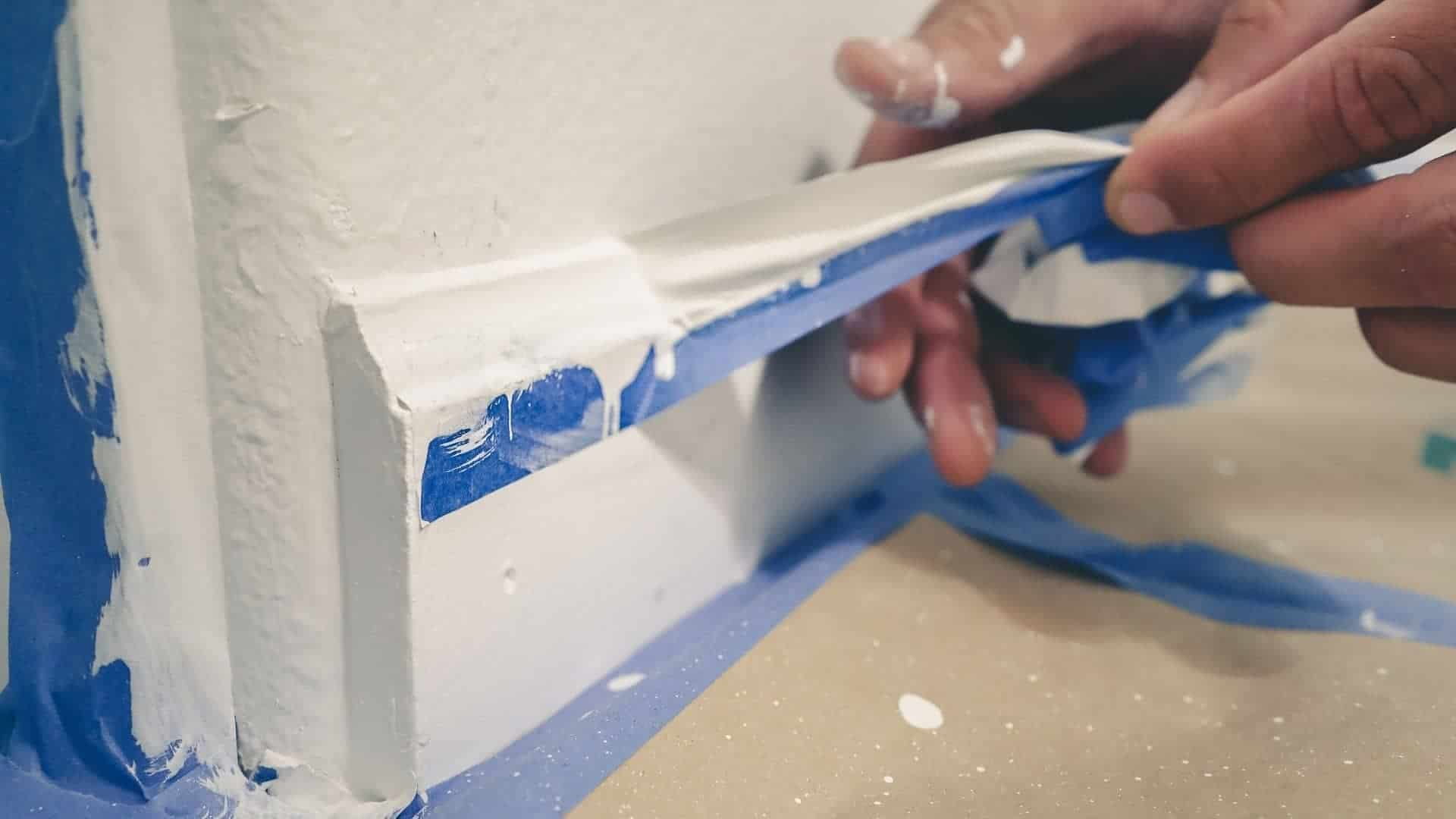 How To Remove Tape From Wall Without Peeling Paint
