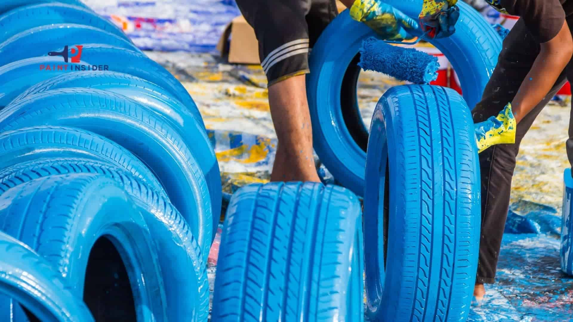 Best Paint To Use On Rubber Tires