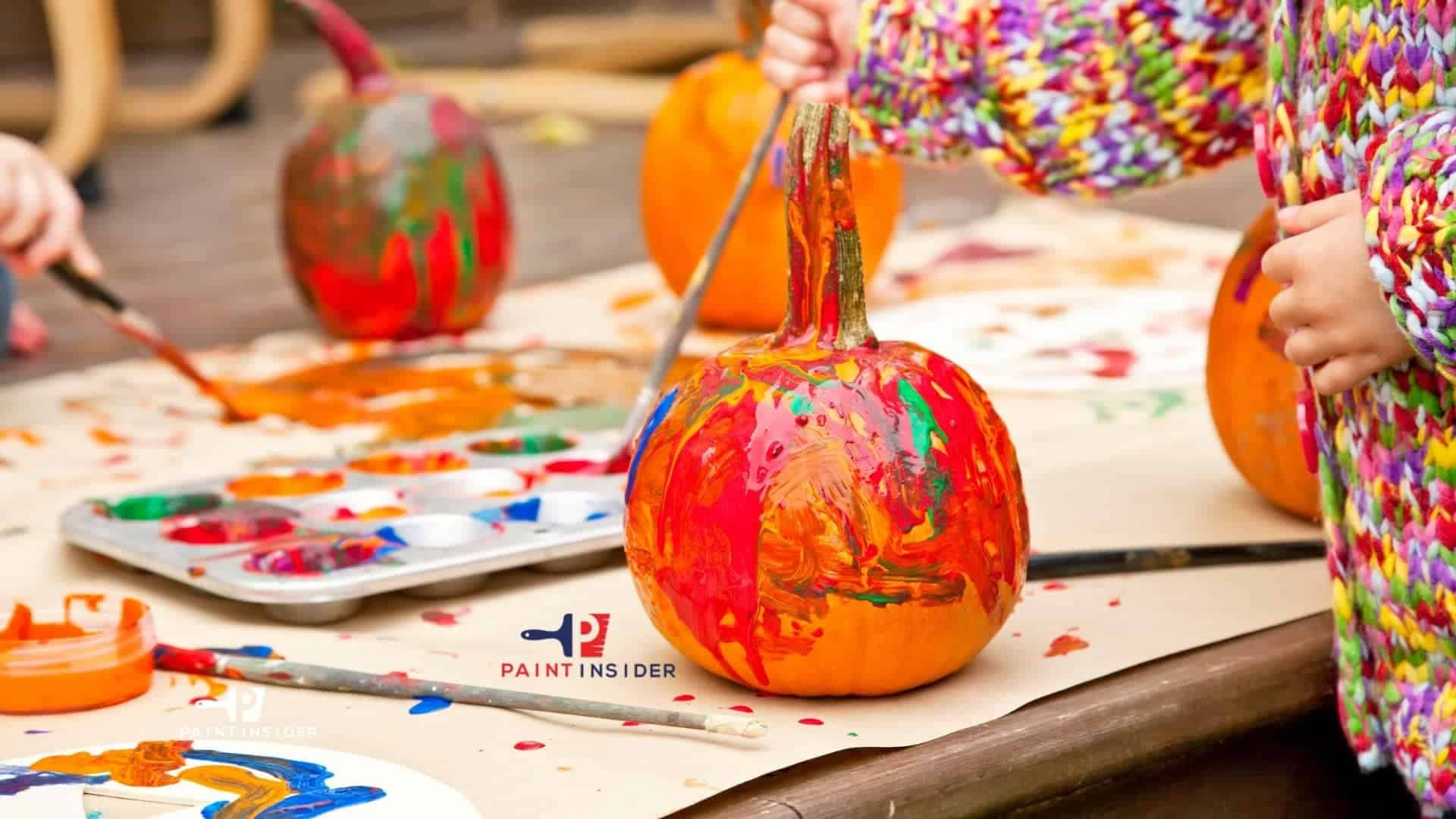 Best Paint to Use On Pumpkins