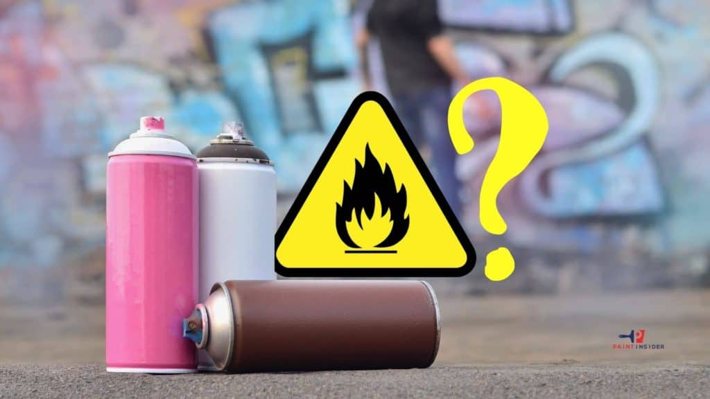 Is Spray Paint Flammable After It Dries